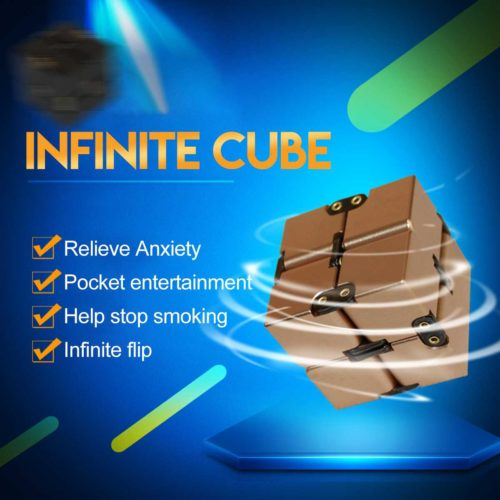 Infinity Cube Relieves Stress and Anxiety Fidget