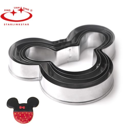 Mickey Mouse Cookie Cutter Bakeware