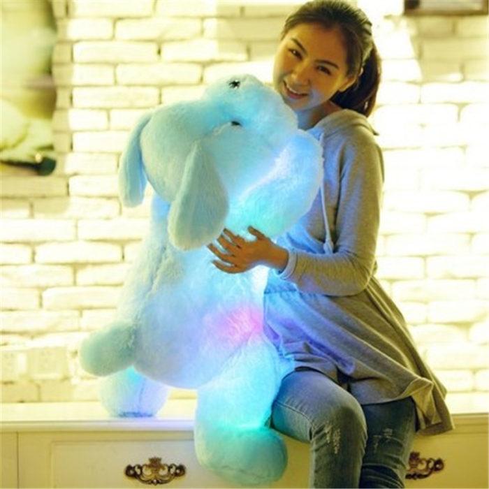 Light Up Stuffed Animal 50cm Plush Dog