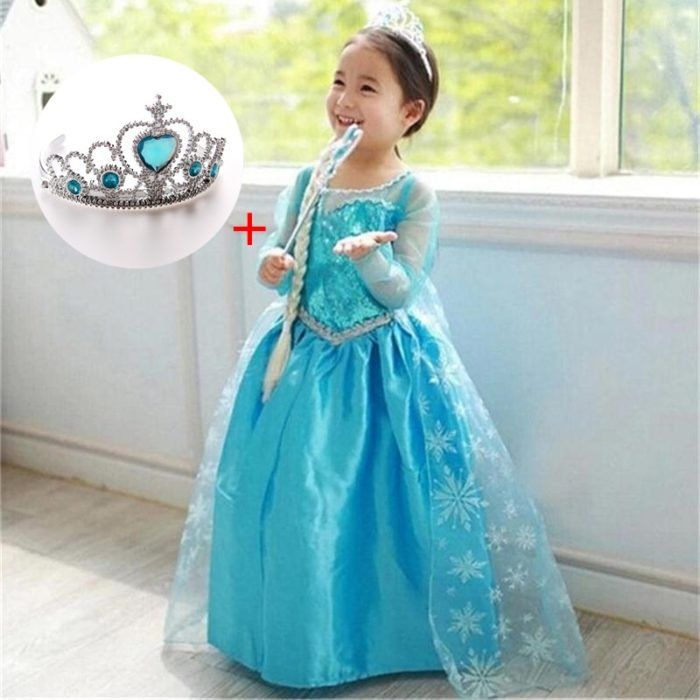 Princess Costume Kids Clothing Wear