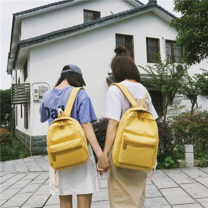 Backpack For Women Canvas Bag