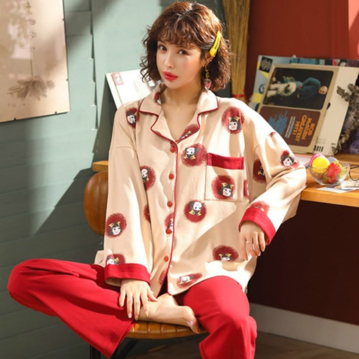 Cotton Sleepwear Ladies Comfortable Pajamas