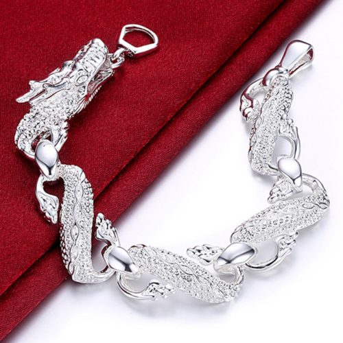 Dragon Bracelet Silver Jewelry