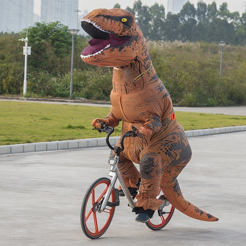 Inflatable T Rex Costume for Halloween Party - Life Changing Products