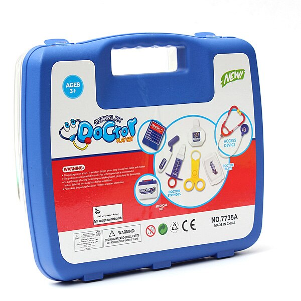 Doctor Play Set Educational Kit 13pcs