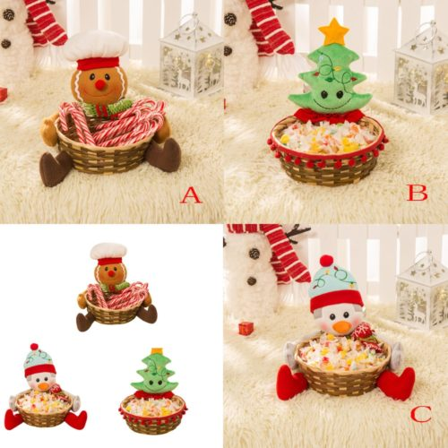 Candy Baskets Christmas Decoration