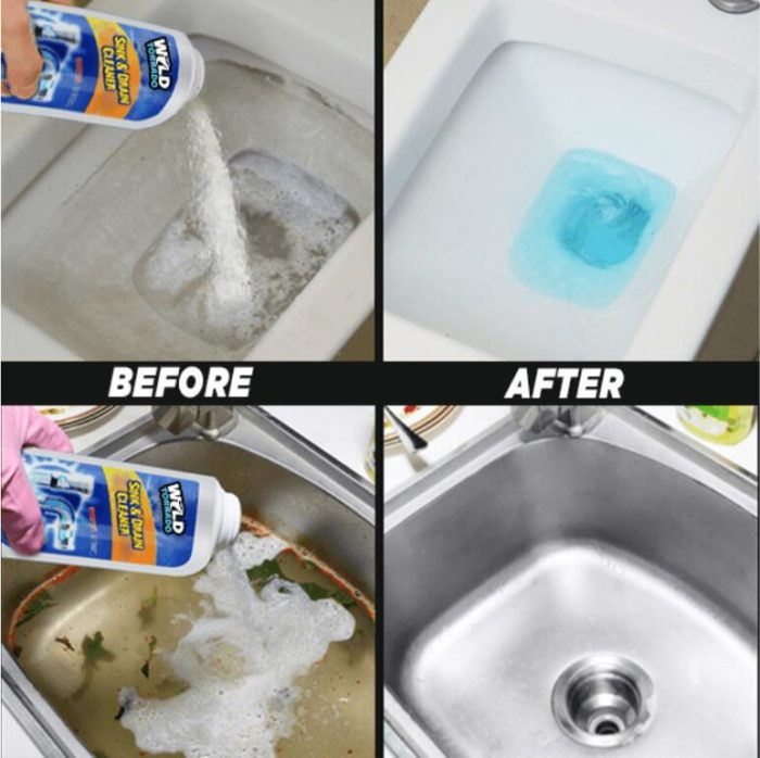 Sink Drain Cleaner Clog Remover Powder