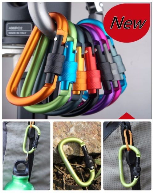 Locking Carabiner Multi-purpose