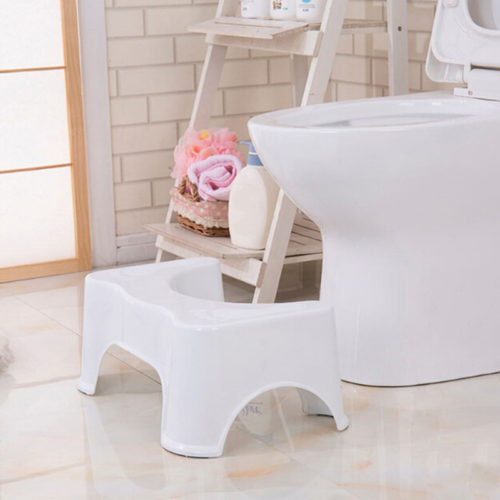Toilet Step Stool Non-Slip