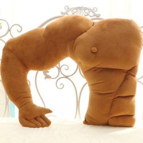 Arm Pillow Cotton Plush Fabric