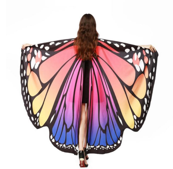 Butterfly Wings Costume Polyester Cloth