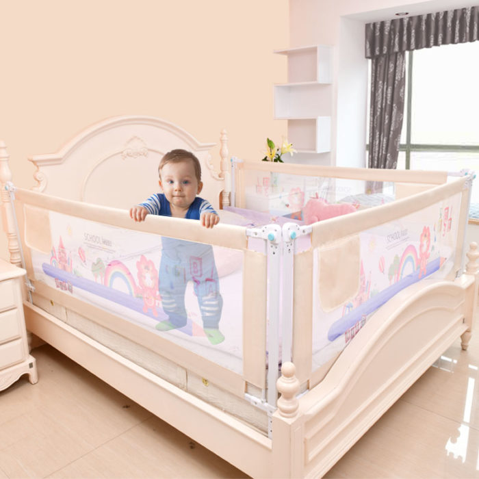 Baby Bed Fence Safety Rail