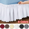 Bed Skirt Polyester Home Decor