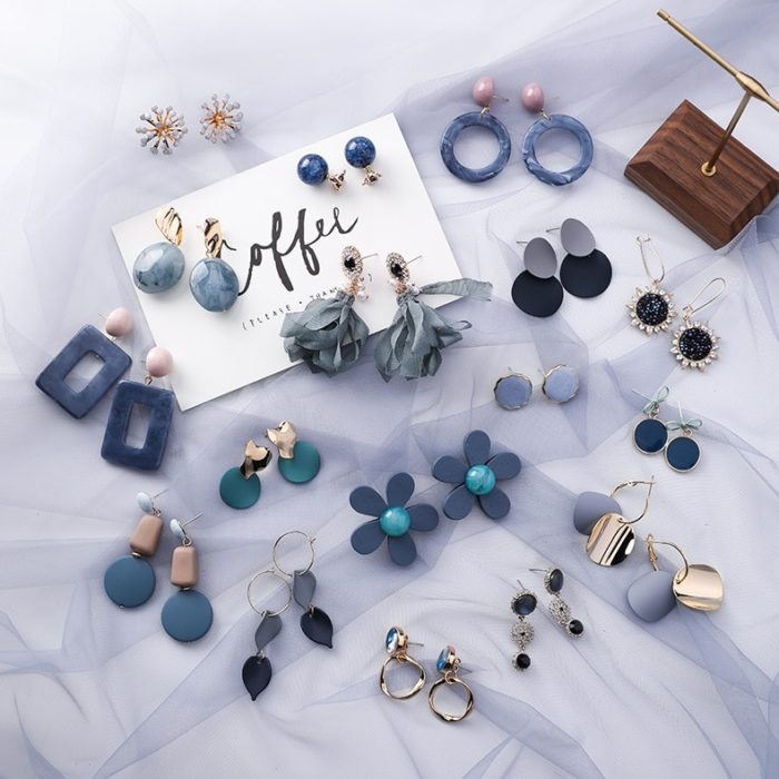 Geometric Earrings Fashion Accessories