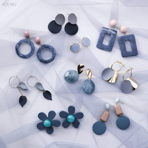 Geometric Earrings Fashion Accessories