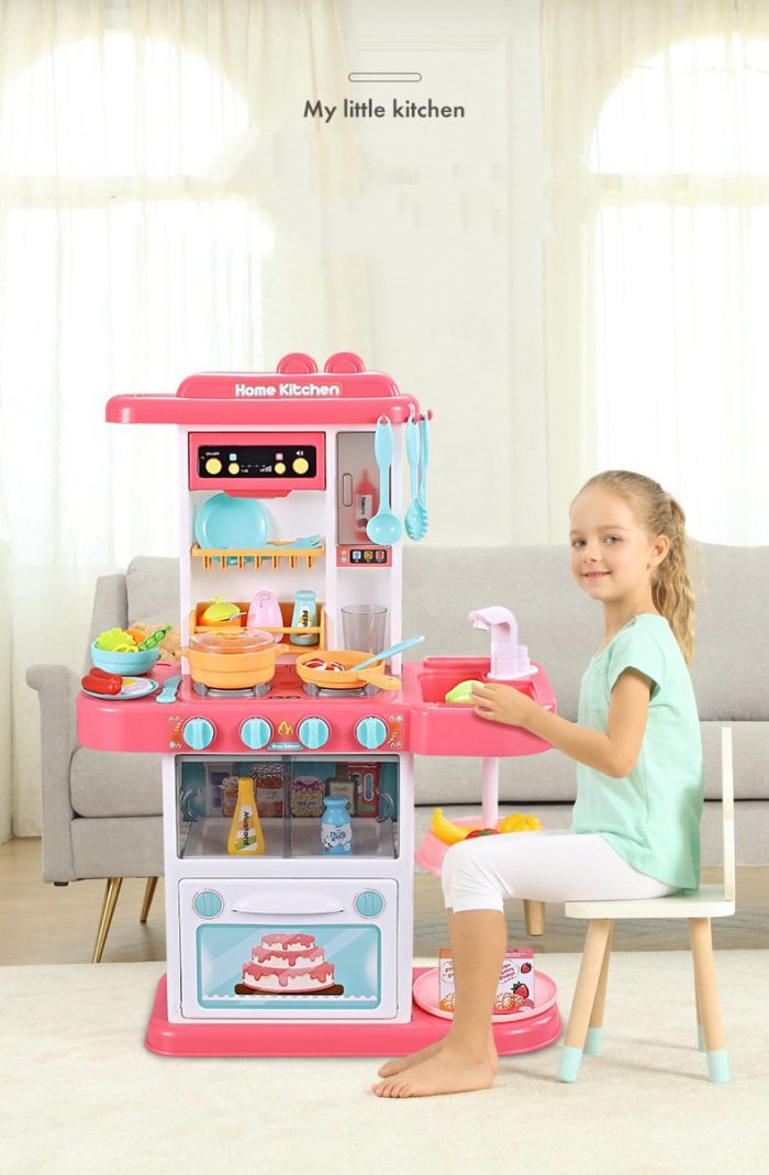 Play Kitchen Set Kids Pretend Toys