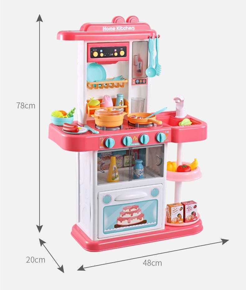 Play Kitchen Set Kids Pretend Toys