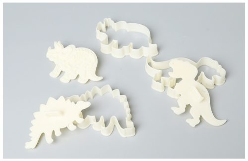 Dinosaur Cookie Cutters 3D Silicone Mold