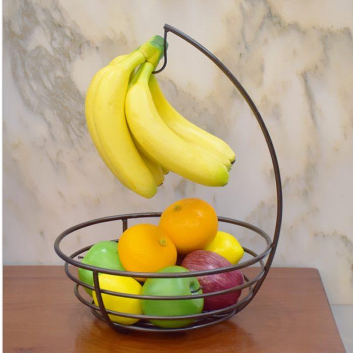 Fruit Holder Metal Fruit Basket