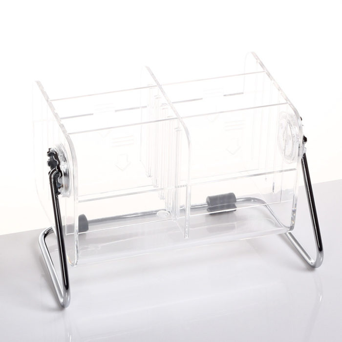TV Remote Holder Transparent Storage Box
