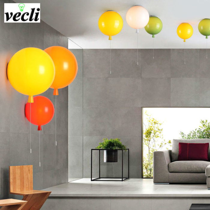 Balloon Lamp Decorative Wall Light