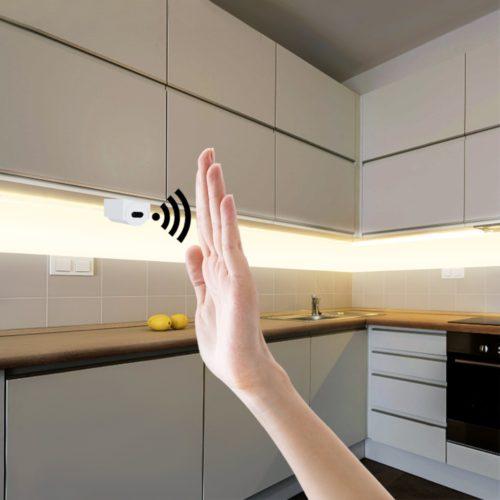 Strip LED Light Hand Sweep Sensor