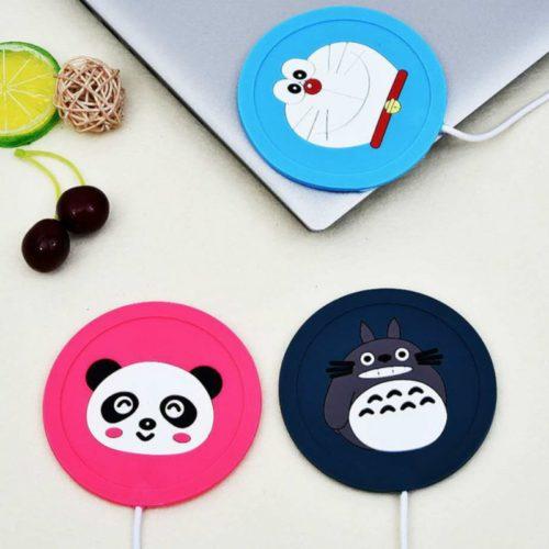 Coffee Cup Warmer Cute Silicone Coaster
