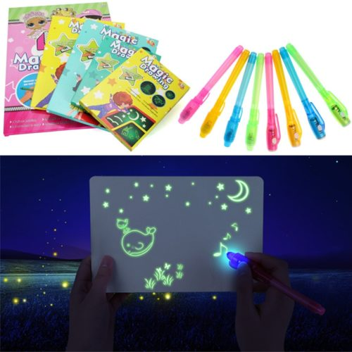 Doodle Board Luminous Kid's Drawing Kit