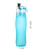 Mist Spray Water Bottle Sports Bottle