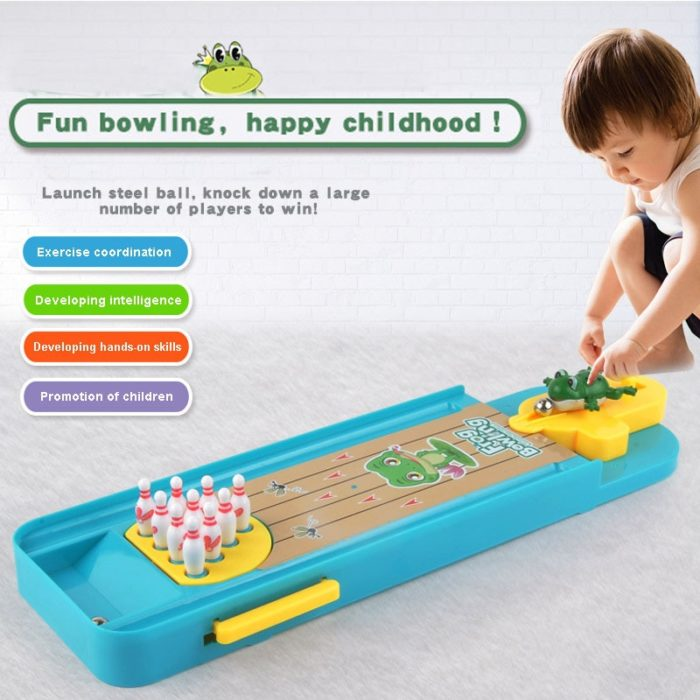 Kids Bowling Set Mini Toy Kit