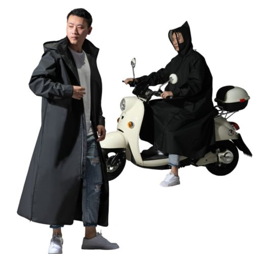 Motorcycle Raincoat Hooded Rain Suit