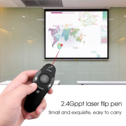 Presentation Clicker Wireless Laser Pen