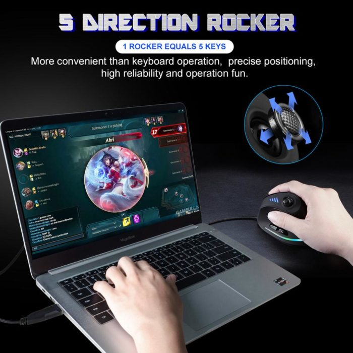 Vertical Gaming Mouse Computer Accessory