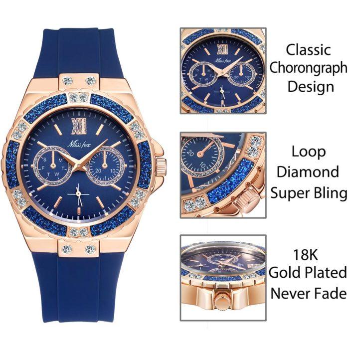 Ladies Hand Watch Stylish Wristwatch