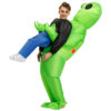Inflatable Alien Costume Halloween Suit