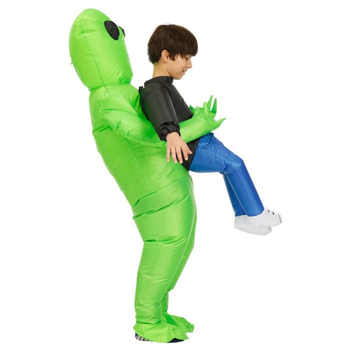 Inflatable Alien Costume Halloween Suit