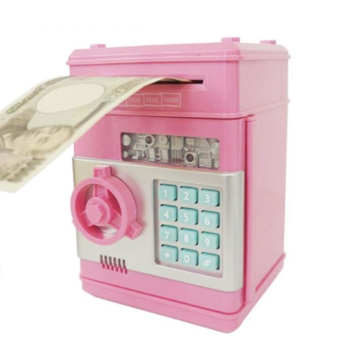 Electronic Piggy Bank Password Protect