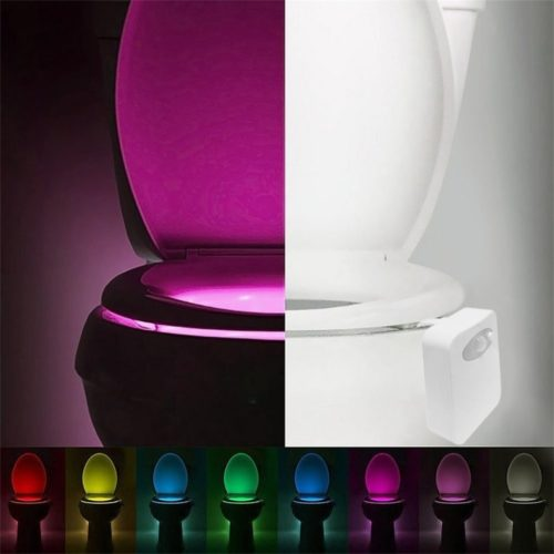 Toilet Night Light Motion-Sensor LED