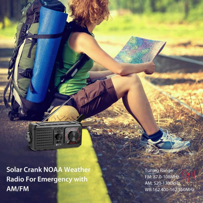 Hand Crank Radio Solar Device