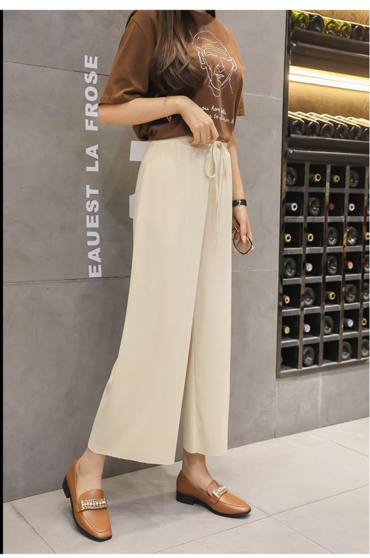 Wide Leg Pants Casual Trouser