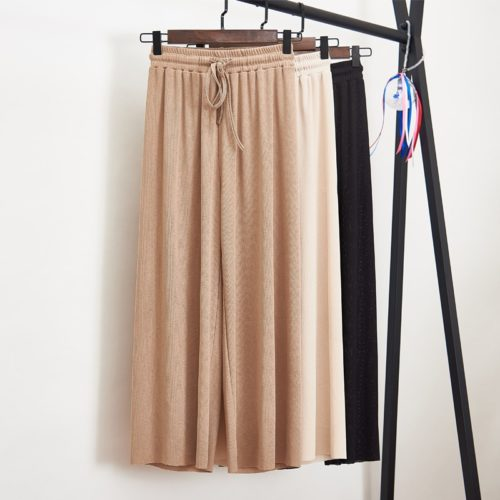 Wide Leg Pants Casual Trouser