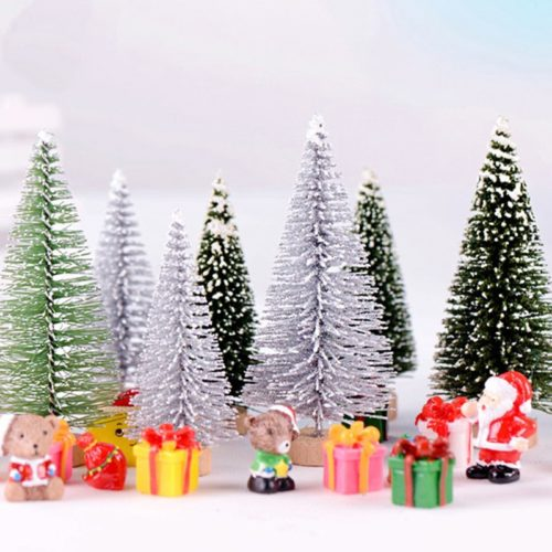 Mini Christmas Tree Miniature Decor