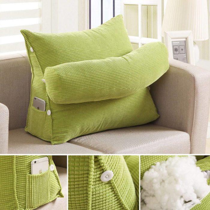Backrest Pillow Triangular Sofa Cushion
