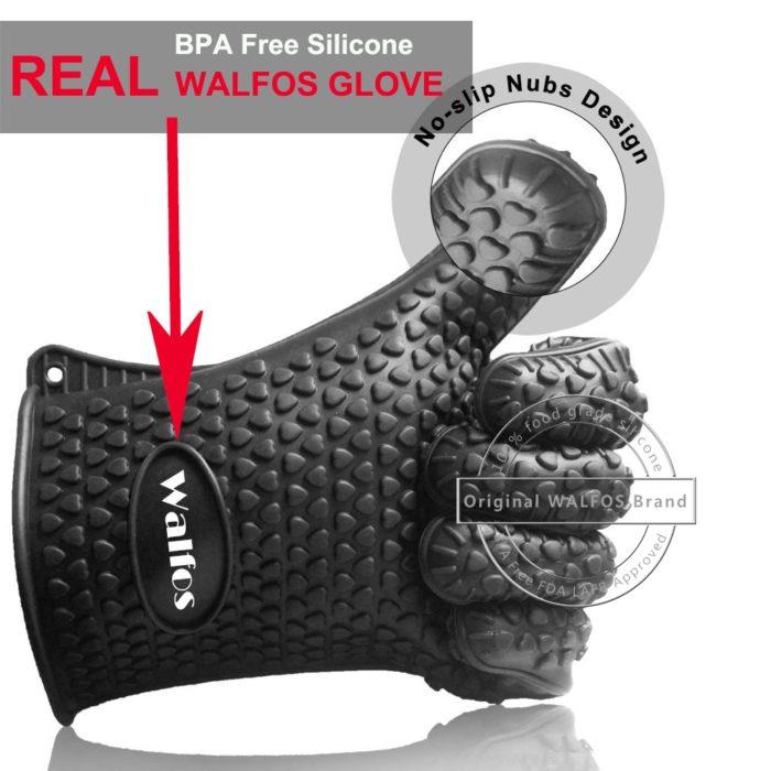 Silicone Oven Mitts Kitchen Glove