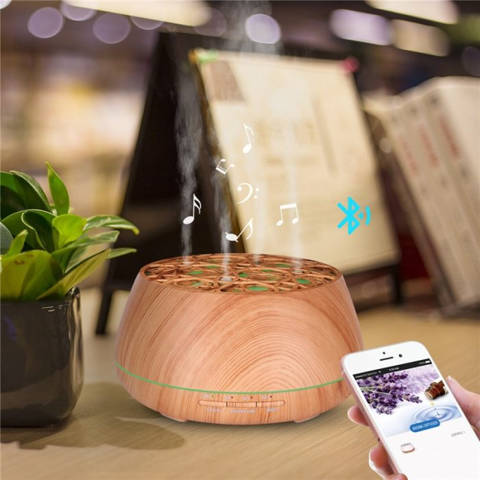 Ultrasonic Diffuser With Speaker