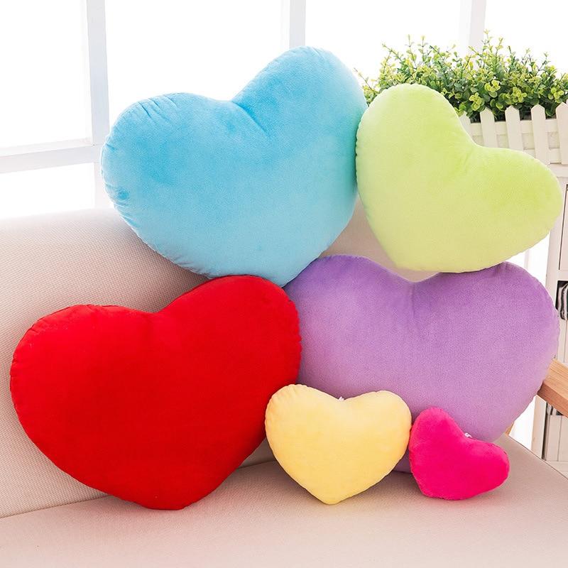 Heart Shaped Pillow Decorative Cushion