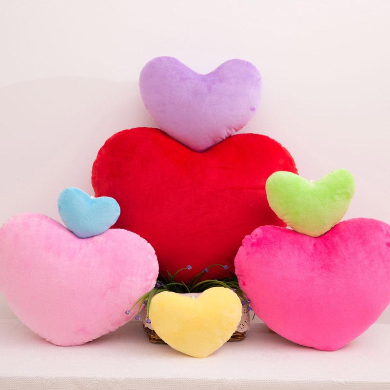 Heart Shaped Cushion Washable Pillow