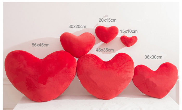Heart Shaped Pillow Decorative Cushion