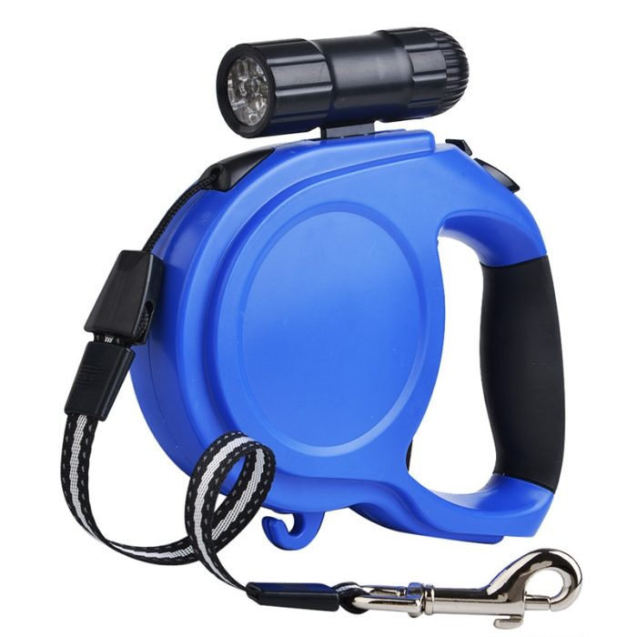 Retractable Dog Lead with LED Light