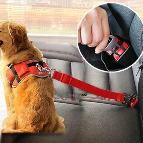 Dog Belt Pet Harness Car Seat Belt